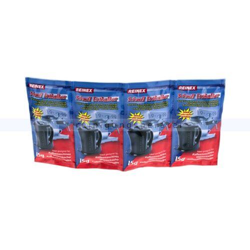 Reinex Entkalker Reinex Entkalker-Tabs 4 x 15 g geeignet für Kaffeemaschinen und Wasserkocher