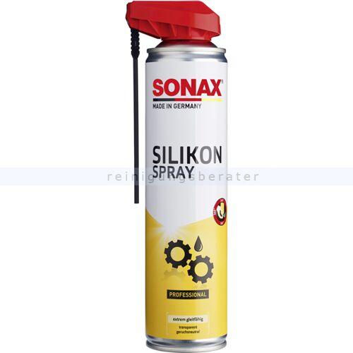Sonax Silikonspray SONAX SilikonSpray 400 ml langanhaltender Schutz für Gummi, Kunststoff, Holz, Metall