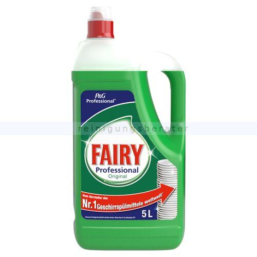 Procter and Gamble Spülmittel Fairy Konzentrat 5 L professionelles Handspülmittel Konzentrat