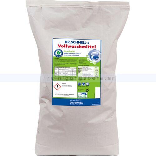 Dr. Schnell Volwaschmittel 20kg Waschpulver Für Weiß- und Buntwäsche