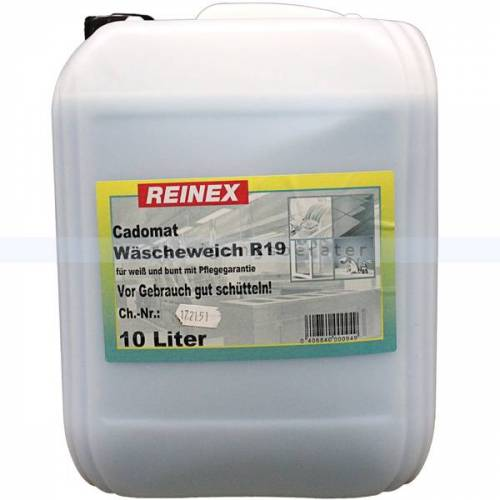 Reinex Weichspüler Reinex Cadomat R19 Wäscheweich 10 L Weichspüler für Bunt und Weißwäsche.