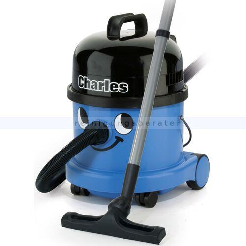 Numatic Charles CVC 370-2 Nass- und Trockensauger vollwertiger Wassersauger inkl. Nasssaugeinsatz mit Ventil