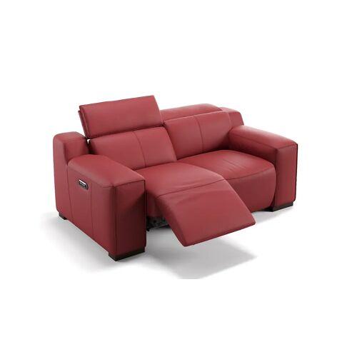 sofanella 2-Sitzer Sofa LORETO Designer Ledersofa