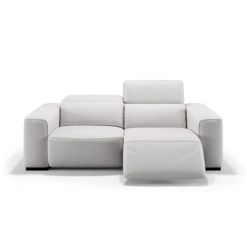 sofanella Ledercouch BINETTO 3-Sitzer Sofa