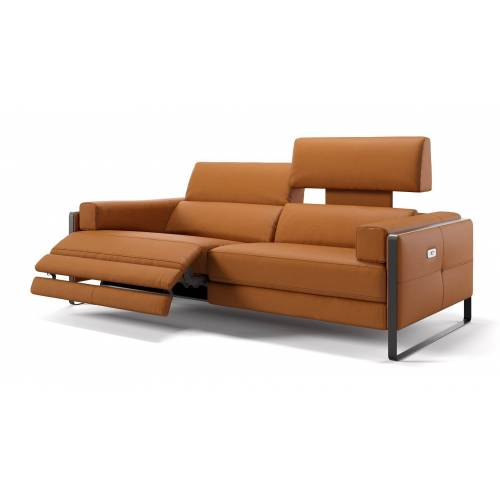 sofanella Hochwertiges Ledersofa MILO Relax Sofa