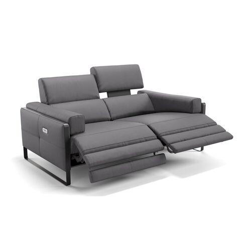 sofanella Italienisches Ledersofa MILO 2-Sitzer Couch