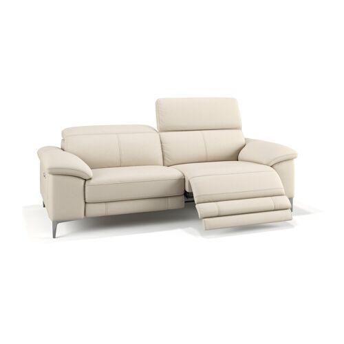 sofanella Ledercouch SIENA 3-Sitzer Sofa