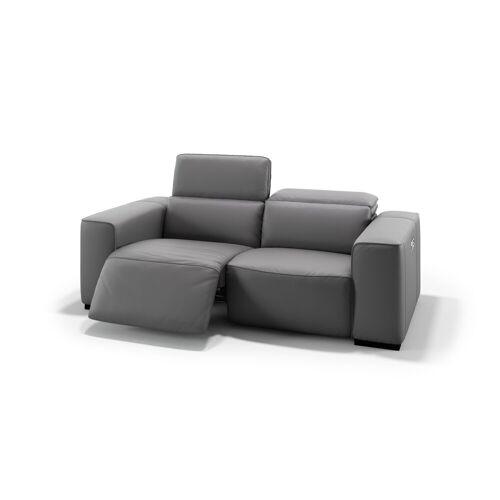 sofanella Ledersofa BINETTO 2-Sitzer Couch Echtleder
