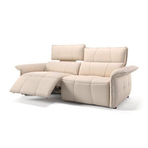 sofanella Ledersofa ADRIA Leder Sofa mit Relaxfunktion