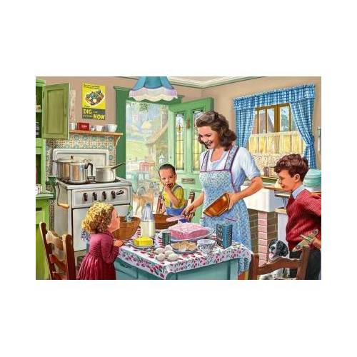 Falcon Kitchen from 1940's 1000 Teile Puzzle Jumbo-11245