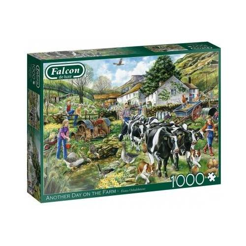 Falcon Another Day on the Farm 1000 Teile Puzzle Jumbo-11283