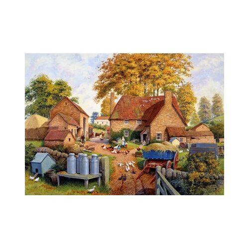 Falcon Autumn on the Farm 1000 Teile Puzzle Jumbo-11274
