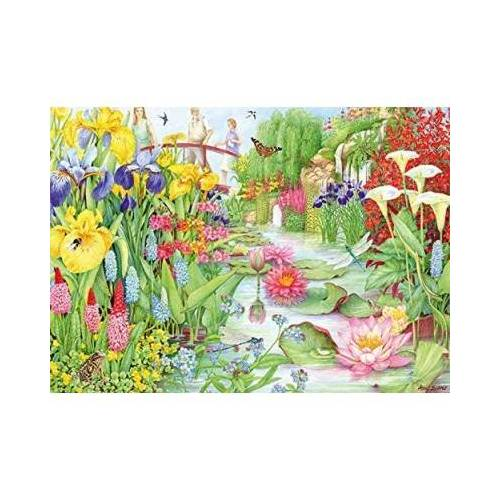 Falcon Flower Show: The Water Garden 1000 Teile Puzzle Jumbo-11282