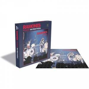 Rock Saws Ramones - It's Alive 500 Teile Puzzle Zee-Puzzle-23450
