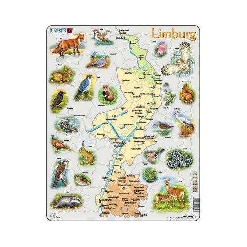 Larsen Rahmenpuzzle - Limburg 60 Teile Puzzle Larsen-K89