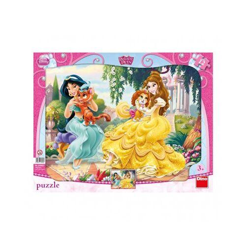Dino Rahmenpuzzle - Disney Princess 12 Teile Puzzle Dino-30308