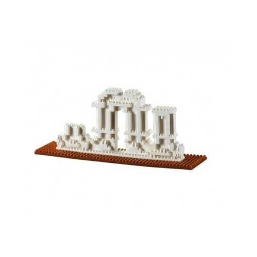 Brixies Nano 3D Puzzle - Yuang Ming Yuan (Level 3) 397 Teile Puzzle Brixies-58783