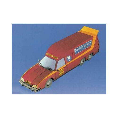 Schreiber-Bogen Kartonmodelbau: FAZ-Citroën CX 2 Teile Puzzle Schreiber-Bogen-72216