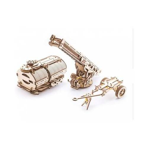 Ugears 3D Holzpuzzle - Set of Additions to the Truck UGM-11 322 Teile Puzzle Ugears-12028