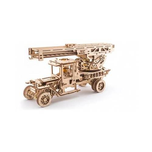 Ugears 3D Holzpuzzle - Fire Ladder 537 Teile Puzzle Ugears-12031