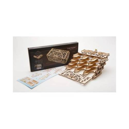 Ugears 3D Holzpuzzle - Card Holder 77 Teile Puzzle Ugears-12090