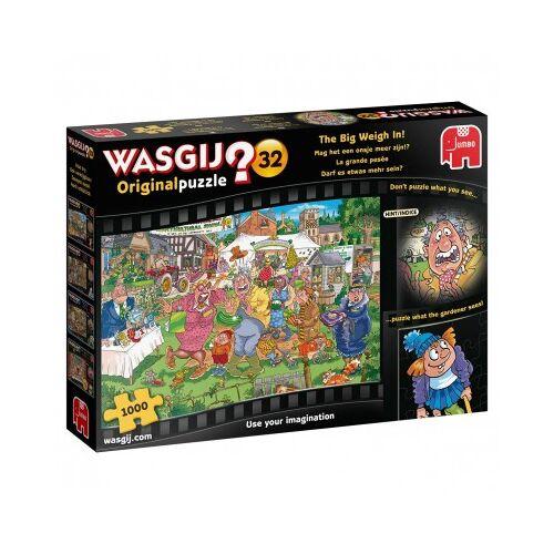 Jumbo Wasgij 32 - Darf es etwas mehr sein? 1000 Teile Puzzle Jumbo-19170