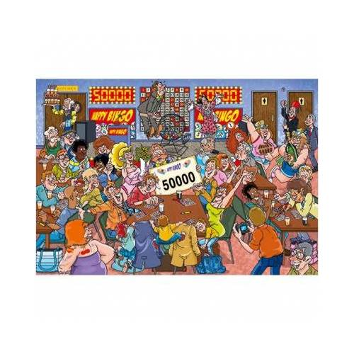 Jumbo Wasgij Mystery 19 1000 Teile Puzzle Jumbo-19182