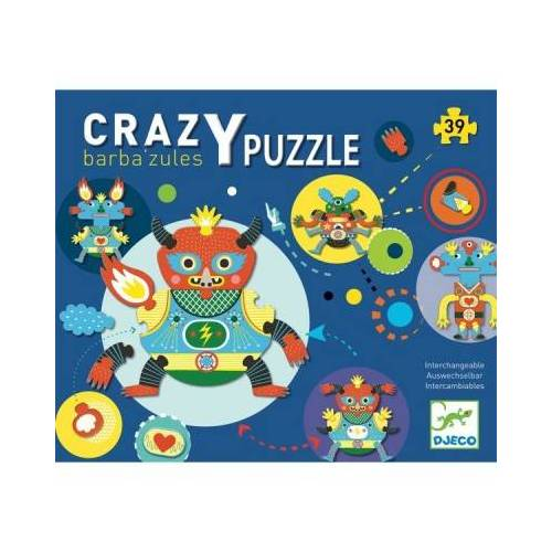 Djeco Crazy Puzzle - Barbazul 39 Teile Puzzle Djeco-07119