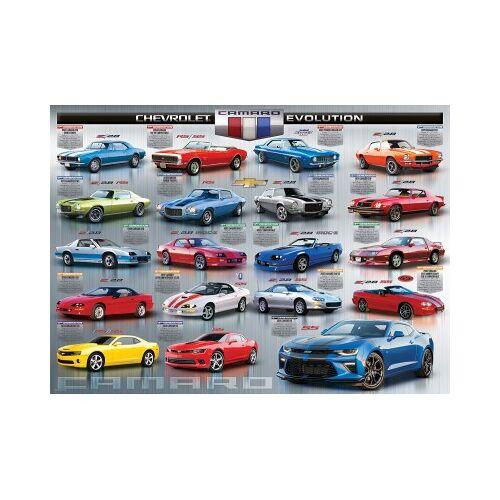 Eurographics Chevrolet The Camaro Evolution 1000 Teile Puzzle Eurographics-6000-0733