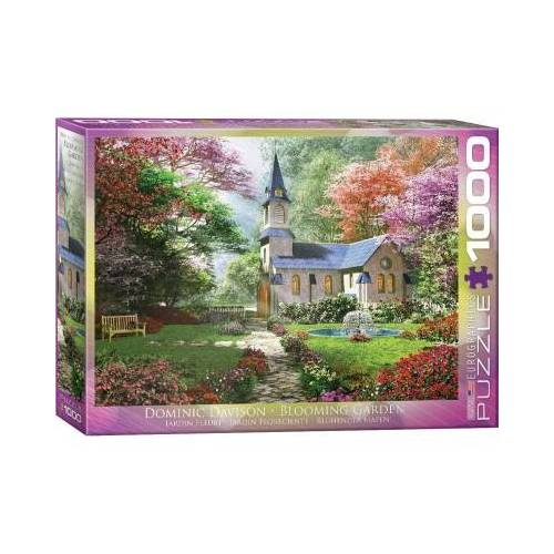 Eurographics Dominic Davison - Blühender Garten 1000 Teile Puzzle Eurographics-6000-0964