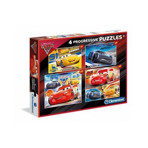 Clementoni 4 Puzzles - Cars 20 Teile Puzzle Clementoni-07714