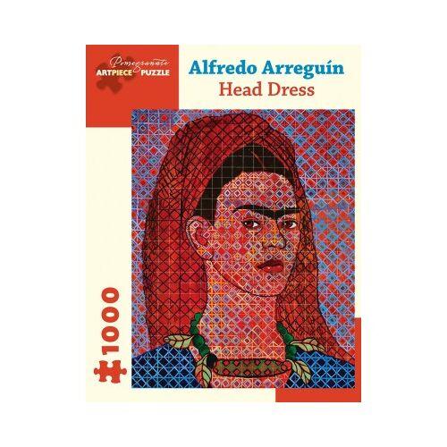 Pomegranate Alfredo Arreguín - Head Dress, 2014 1000 Teile Puzzle Pomegranate-AA1053