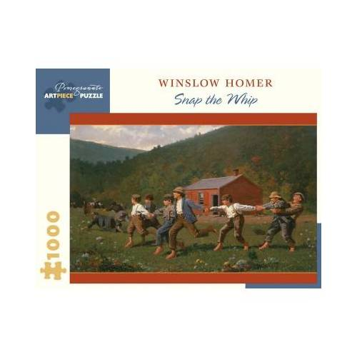 Pomegranate Winslow Homer - Snap the Whip, 1872 1000 Teile Puzzle Pomegranate-AA1066