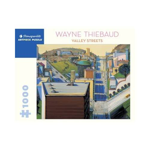 Pomegranate Wayne Thiebaud - Valley Streets 1000 Teile Puzzle Pomegranate-AA1080