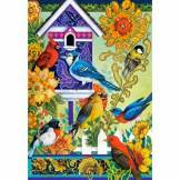 Castorland David Galchutt: The Backyard Gathering 1000 Teile Puzzle Castorland-104000