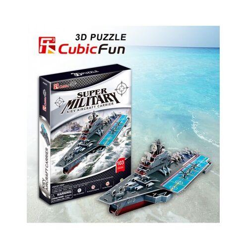 Cubic Fun Puzzle 3D - Kiev Flugzeugträger 103 Teile Puzzle Cubic-Fun-P602H