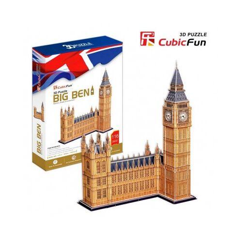 Cubic Fun Puzzle 3D - Big Ben, London 117 Teile Puzzle Cubic-Fun-MC087H