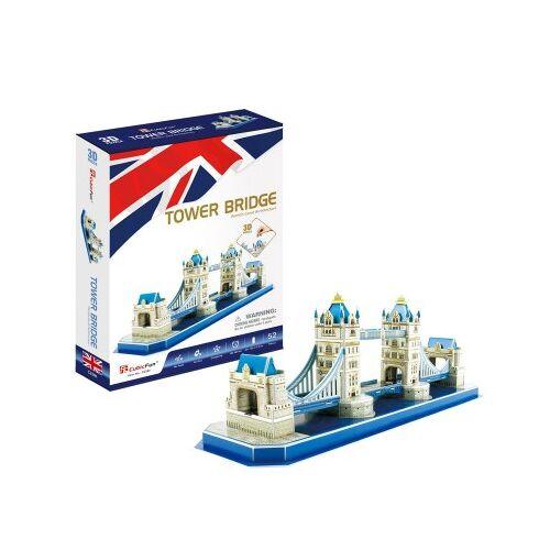 Cubic Fun 3D Puzzle - Tower Bridge - Schwierigkeit: 4/8 52 Teile Puzzle Cubic-Fun-C238h