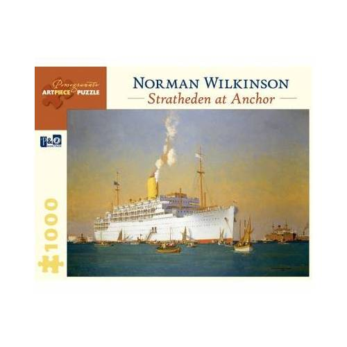 Pomegranate Norman Wilkinson - Stratheden at Anchor 1000 Teile Puzzle Pomegranate-AA842