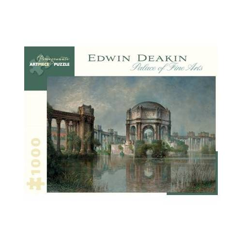 Pomegranate Edwin Deakin - Palace of Fine Arts and the Lagoon, c. 1915 1000 Teile Puzzle Pomegranate-AA900