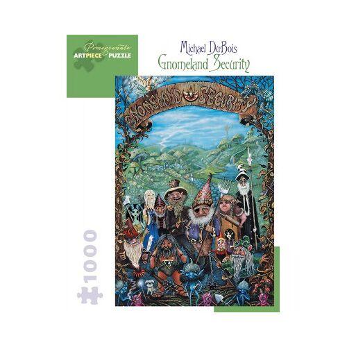 Pomegranate Michael DuBois - Gnomeland Security, 2004 1000 Teile Puzzle Pomegranate-AA923