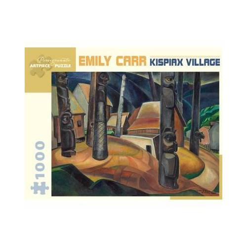 Pomegranate Emily Carr - Kispiax Village, 1929 1000 Teile Puzzle Pomegranate-AA925