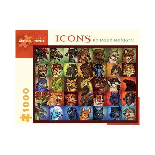 Pomegranate Katie Hofgard - Icons 1000 Teile Puzzle Pomegranate-AA926