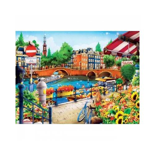 Master Pieces Amsterdam 550 Teile Puzzle Master-Pieces-31974