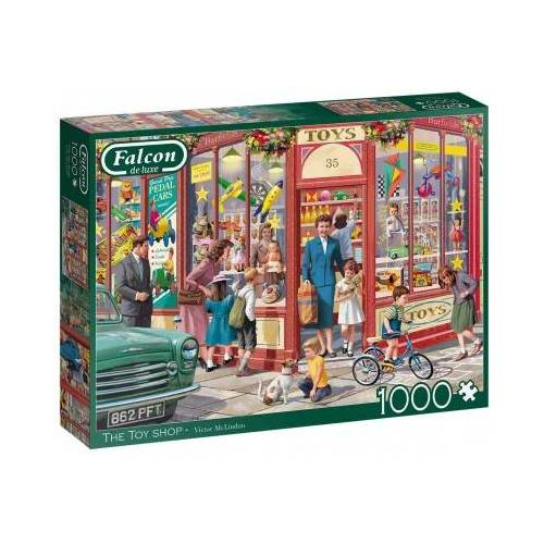 Falcon The Toy Shop 1000 Teile Puzzle Jumbo-11284