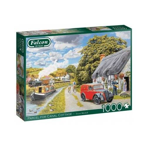 Falcon Parcel for Canal Cottage 1000 Teile Puzzle Jumbo-11299