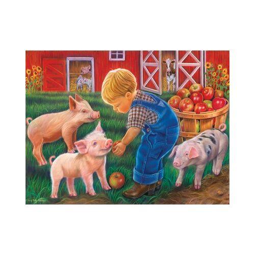 SunsOut XXL Teile - Farm Boy 300 Teile Puzzle Sunsout-35838