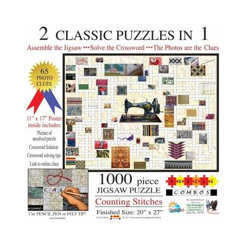 SunsOut Irv Brechner - Puzzle Combo: Counting Stitches 1000 Teile Puzzle Sunsout-10176