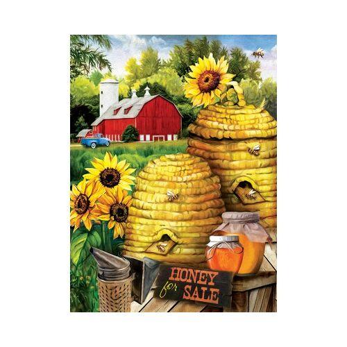 SunsOut Tom Wood - Bee Farm 300 Teile Puzzle Sunsout-29880