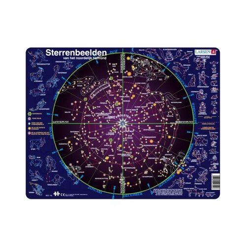 Larsen Rahmenpuzzle - Sternbilder (Holländisch) 70 Teile Puzzle Larsen-SS2-NL